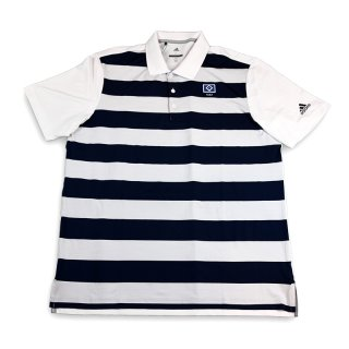 Polo-Shirt Rugby weiss/navy