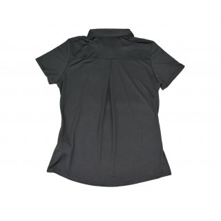 Polo-Shirt Performance, schwarz Damen
