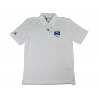Polo-Shirt Performance, weiss