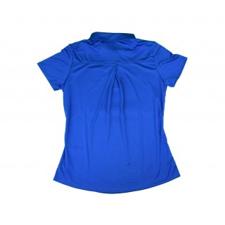 Polo-Shirt Performance, blau Damen